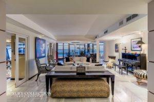 Candina Reef beachfront apartment for rent in Condado, three bedrooms, three bathrooms and a spacious balcony with unbelievable ocean views.