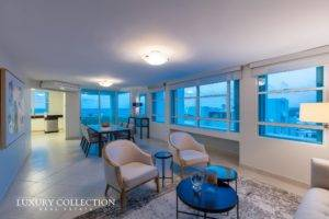 Carrion Court Playa apartment for rent, stunning ocean views in the exclusive Carrion Court Playa with direct access to best beach area in Condado.