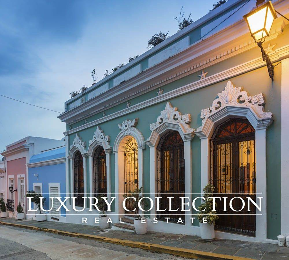 Old San Juan Mansion For Sale at San Francisco Street ***RENTED***