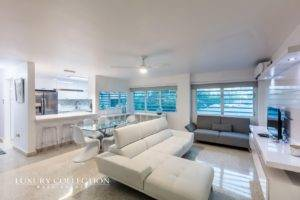 Condado apartment for rent is nestled on the second level of San José building, located in the heart of the walkable zone of Condado next to Stella Maris.