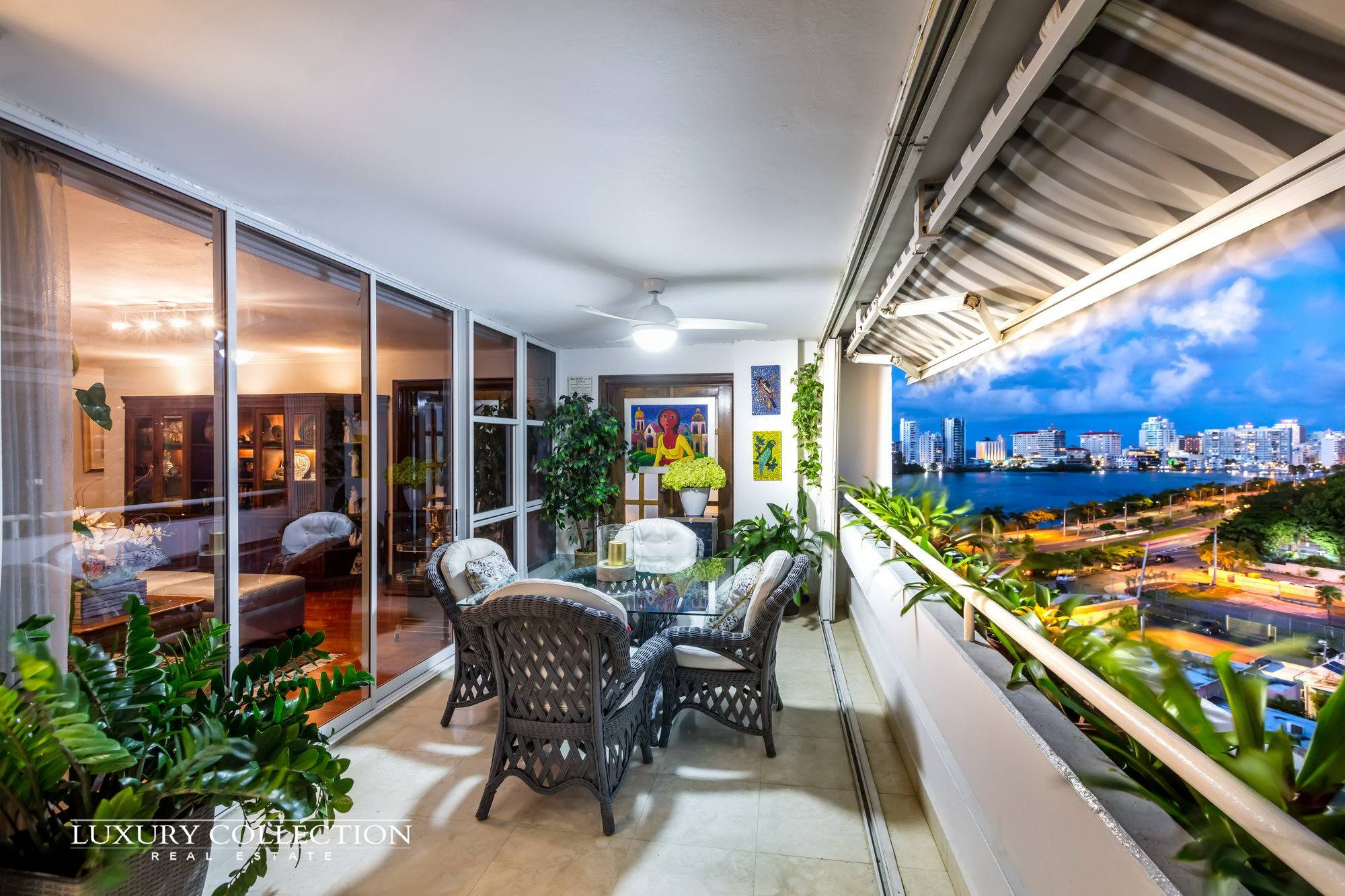 Waterview Mansions Miramar for sale provides a breathtaking statement of simple elegance and tranquility with stunning ocean and lagoon views.