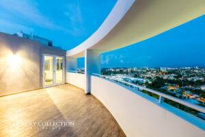 ViewPoint Penthouse for Sale in San Juan, Puerto Rico with dramatic panoramic views and terrace space. Two-level Penthouse with 4 bedrooms, 3 bathrooms.